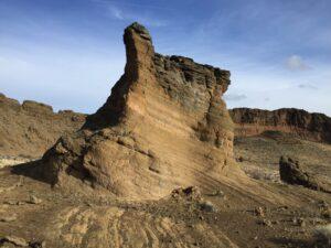 Huge rock structure