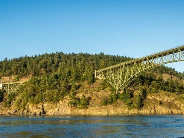 Bridge on water